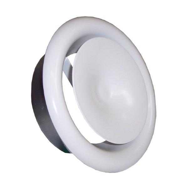 Приточные и вытяжные металлические диффузоры, DVS-P и DVS