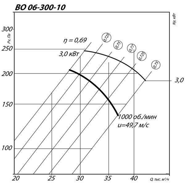 ВО 06-300 №10 (3 кВт/1000 об/мин)