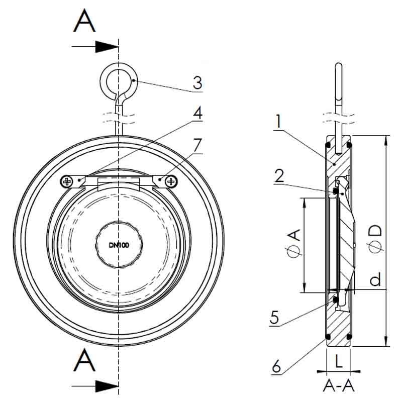 клапан Tecofi CB6441-0500