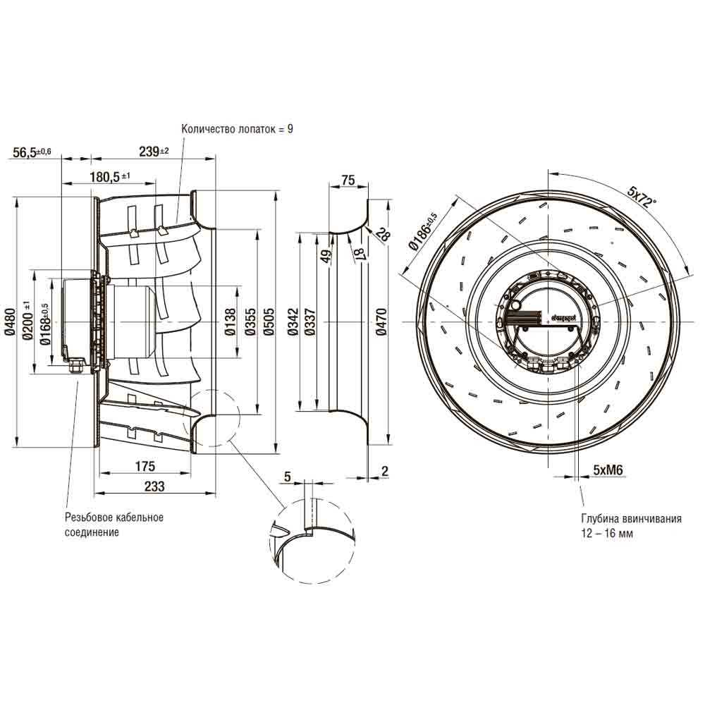 EbmPapst R3G500-RA24-71