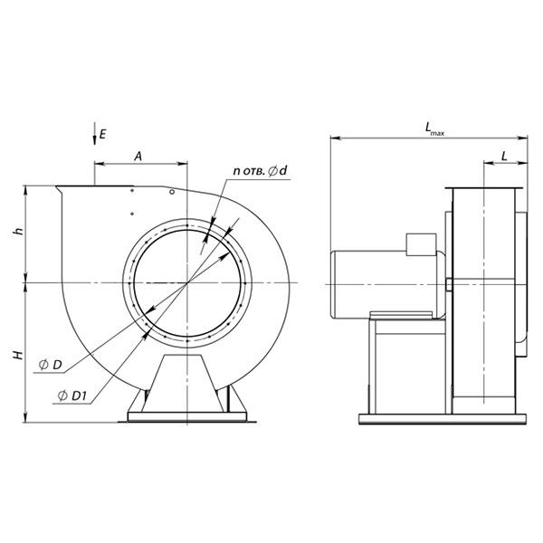 ВР 300-45 №2 (1,1 кВт/2900 об/мин)