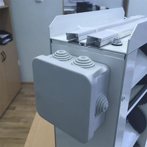 Утепленный клапан КВУ 600x600