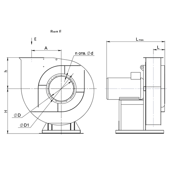 ВР 140-15 №4 (0,75 кВт/2810 об/мин)