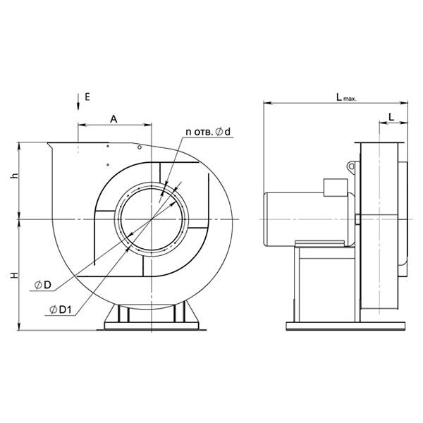 ВР 140-40 №2,5 (1,5 кВт/2850 об/мин)