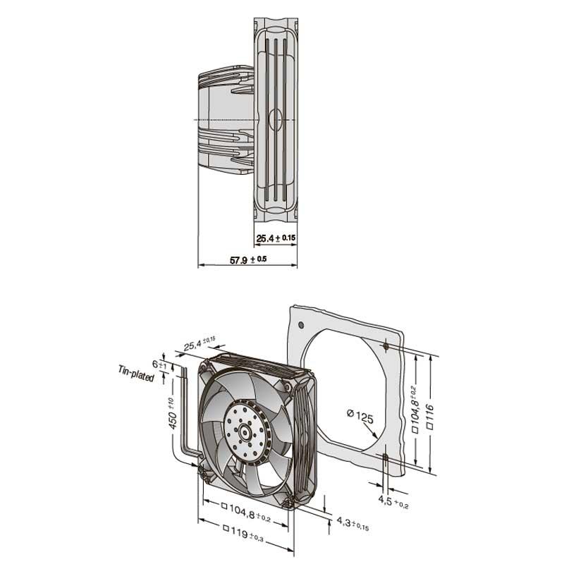 EbmPapst AC 4400 FNN