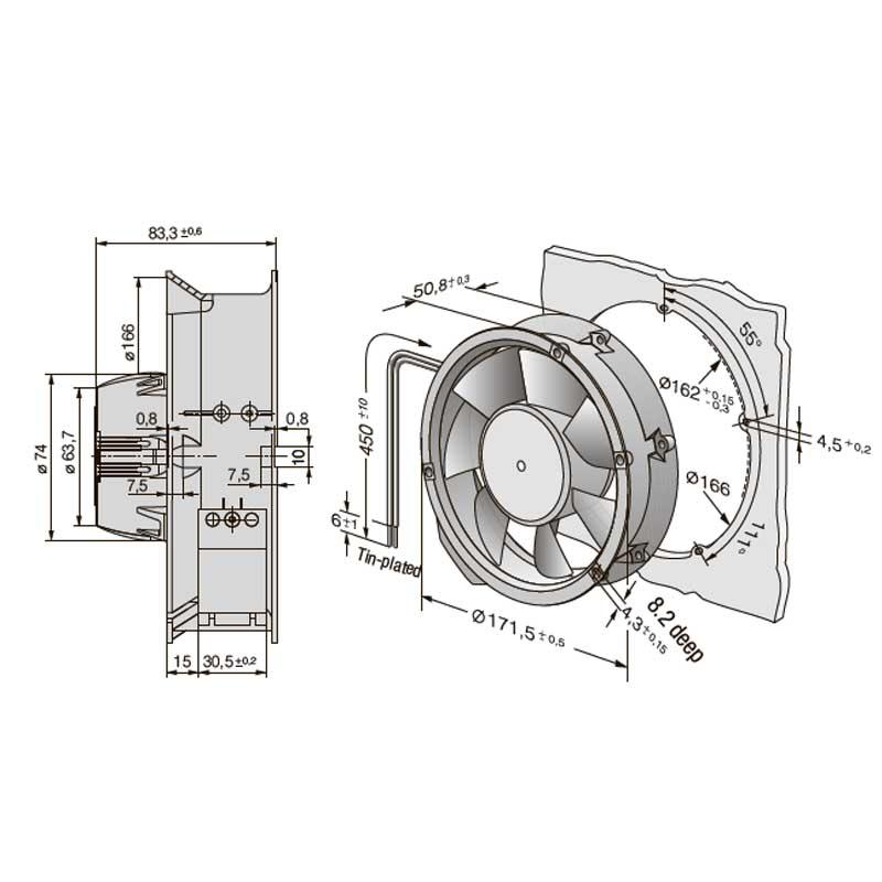 EbmPapst AC 6200 NMU