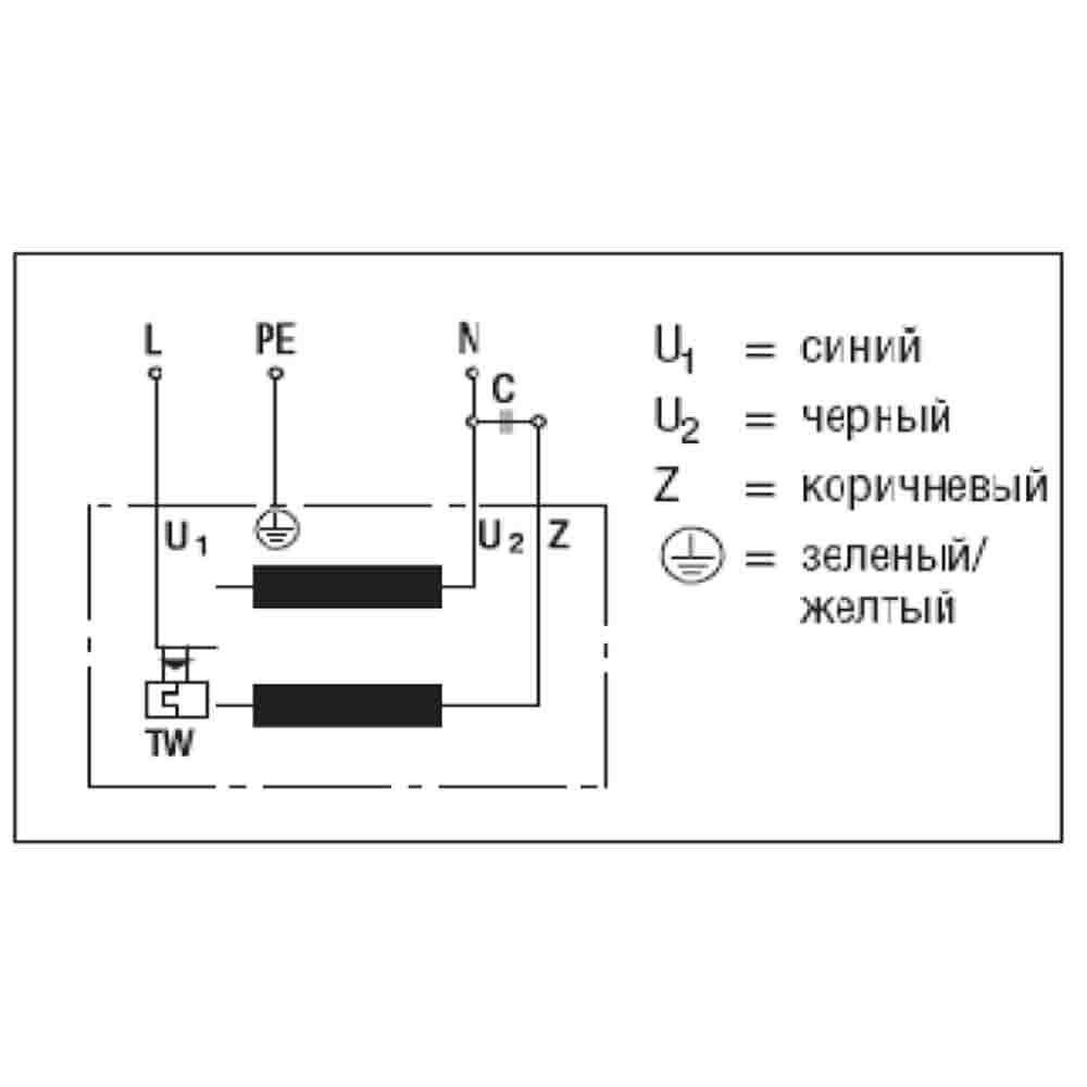 Схема подключения R2E280-AE52-05