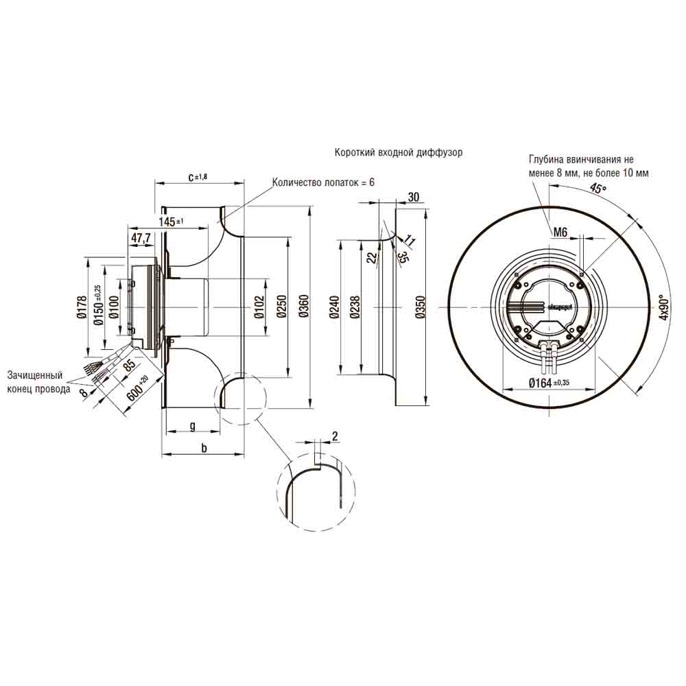 EbmPapst R3G355-PH49-01