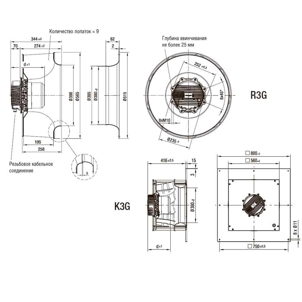 EbmPapst R3G560-AQ08-68