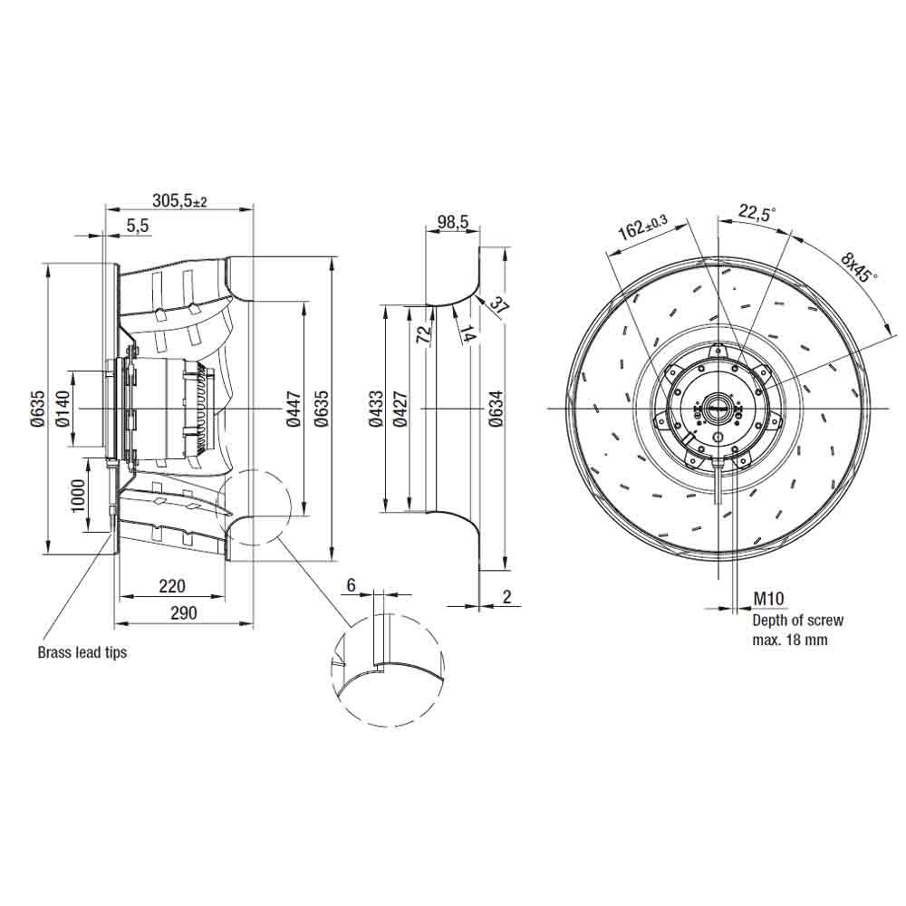 EbmPapst R4D630-AQ15-01