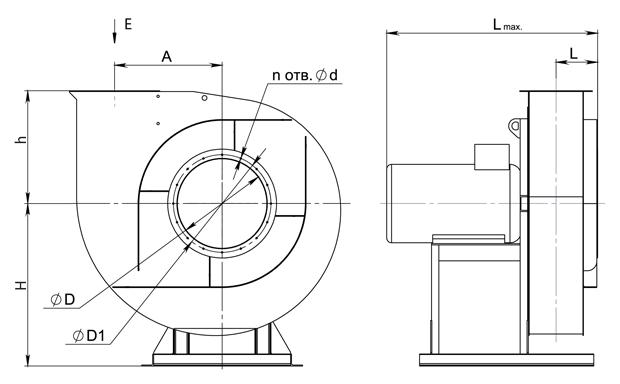 ВР 12-26 № 3,15 (11 кВт/3000 об/мин)