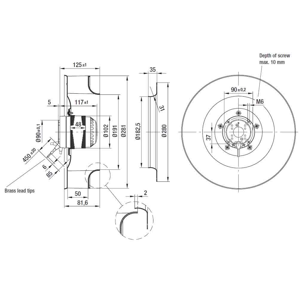 EbmPapst R2D280-AF10-09