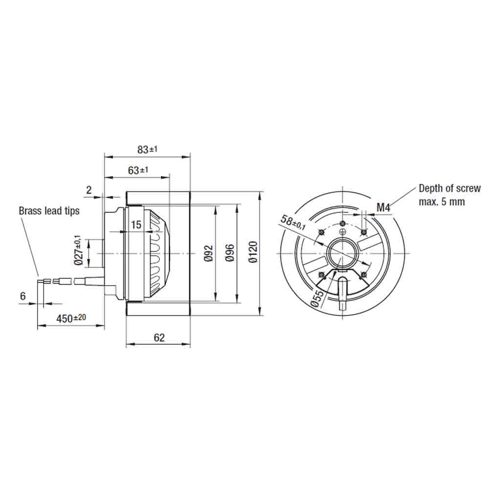 EbmPapst R2E120-AR77-05