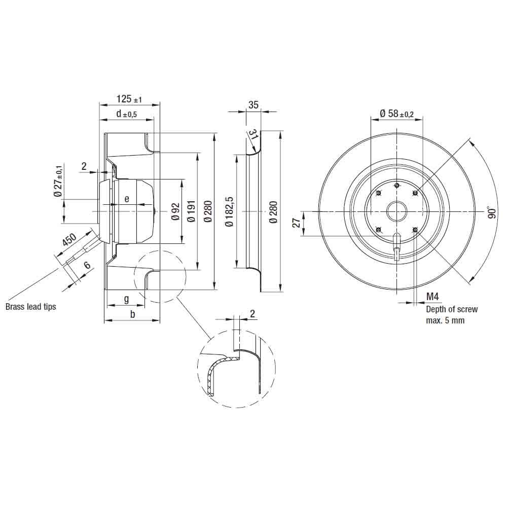 EbmPapst R2E280-AE52-23