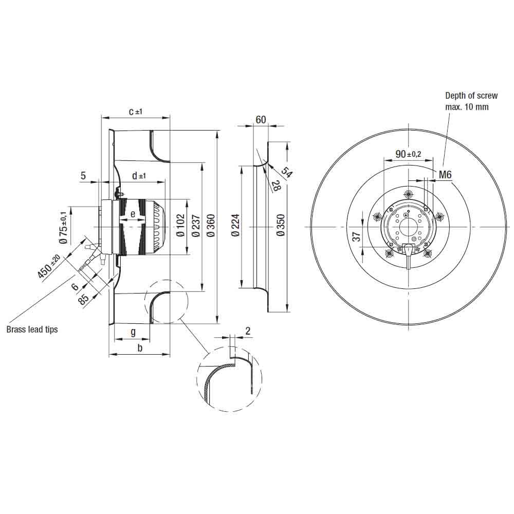 EbmPapst R4E355-AK05-05
