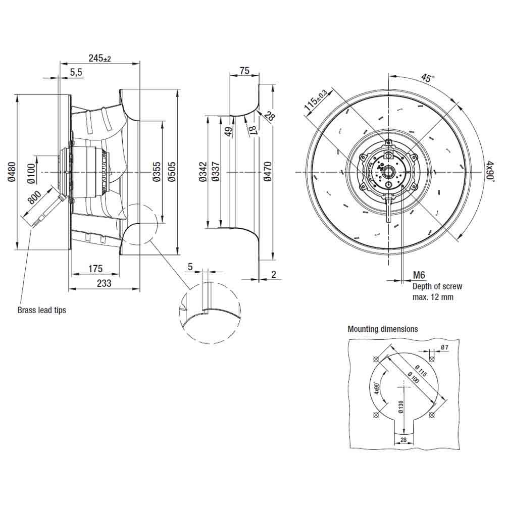 EbmPapst R6D500-AK03-01