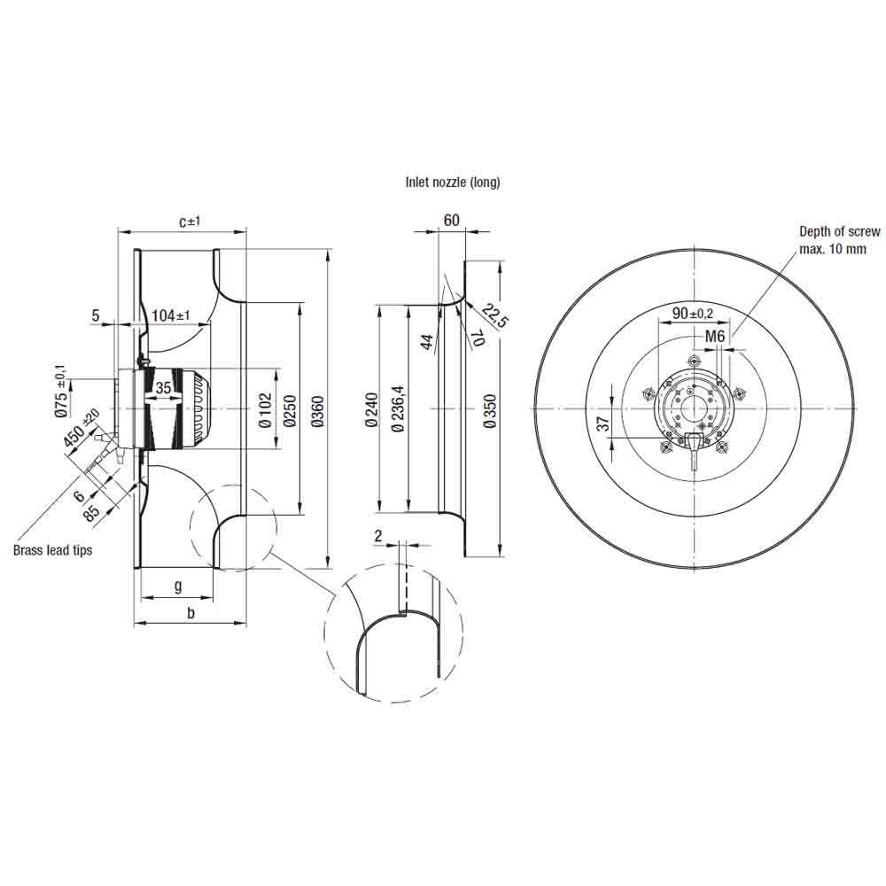EbmPapst R6E355-AE16-05