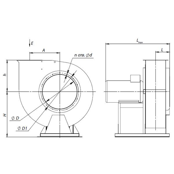 ВЦ 4-70-5В (0,75/1000)