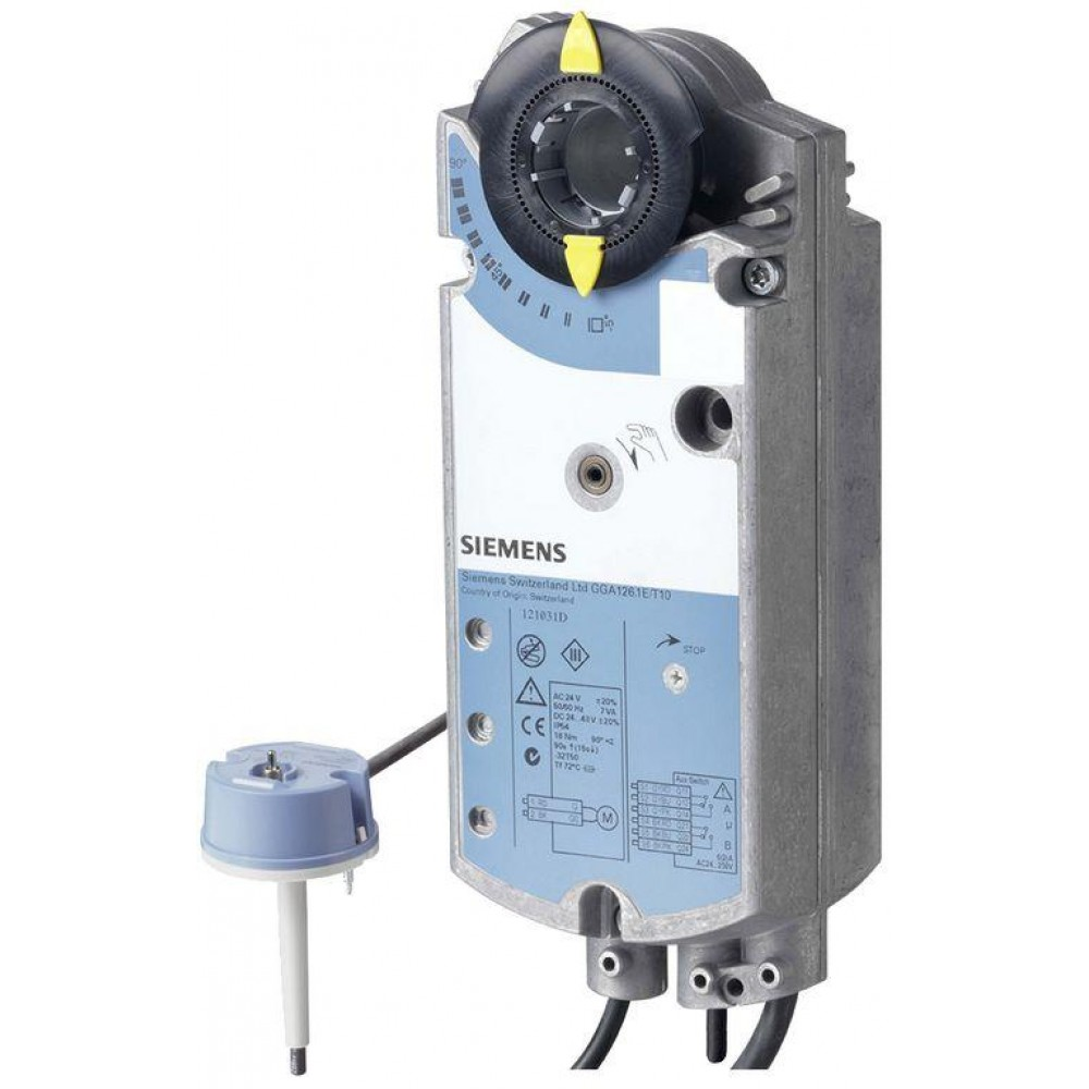 Привод Siemens GGA126.1E (18 Нм/ 24 В)