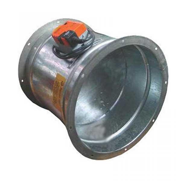 Заслонка с электроприводом АЗД 216.000-02