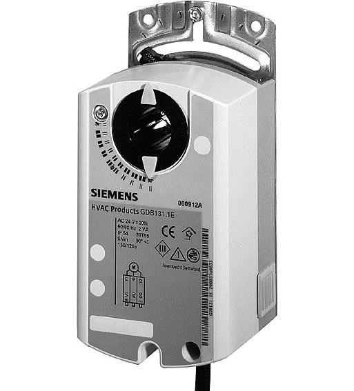 Привод Siemens GDB132.1E (5 Нм/ 24 В)