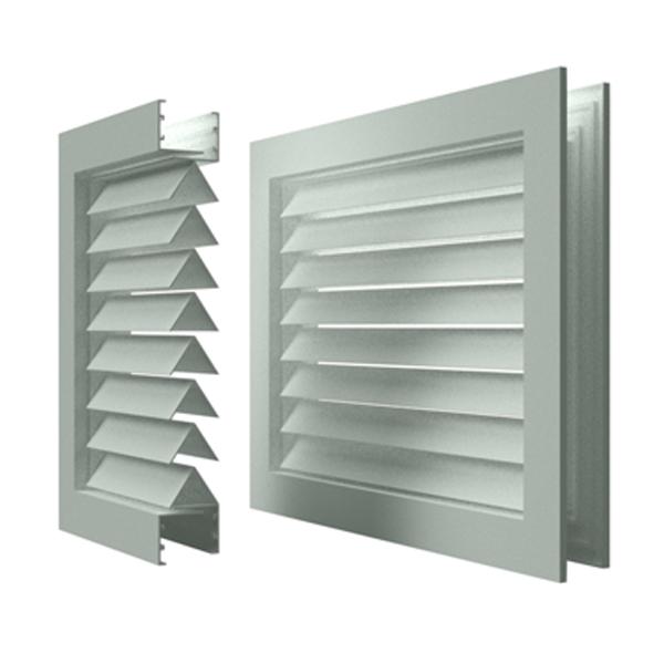 Переточные решетки в двери и перегородки