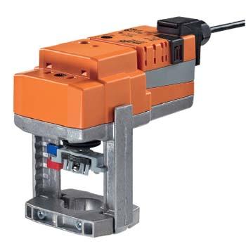 Электропривод NVC24A-SR-TPC для 2- и 3-ходовых седельных клапанов