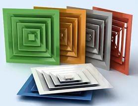 Вентиляционные алюминиевые решетки любых размеров и цветов!