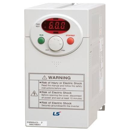 Частотный преобразователь SV022iC5-1.