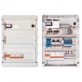 Щит управления вентиляцией на контроллере Siemens