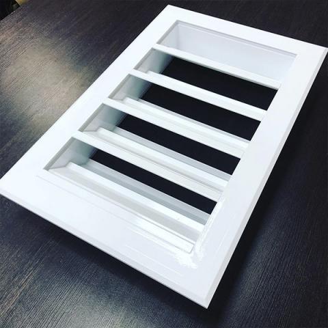 Установка вентиляционных решёток