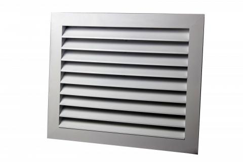 Как прикрепить вентиляционную решетку