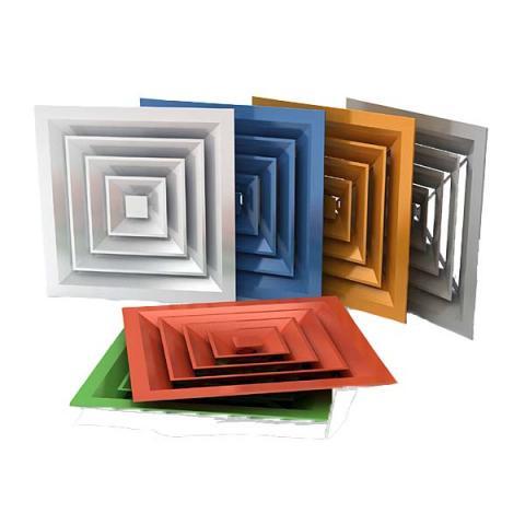 Вентиляционные решетки для потолка