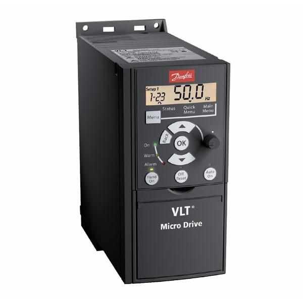 Частотный преобразователь Danfoss FC 51 0,37 кВт (200-240, 1 фаза)