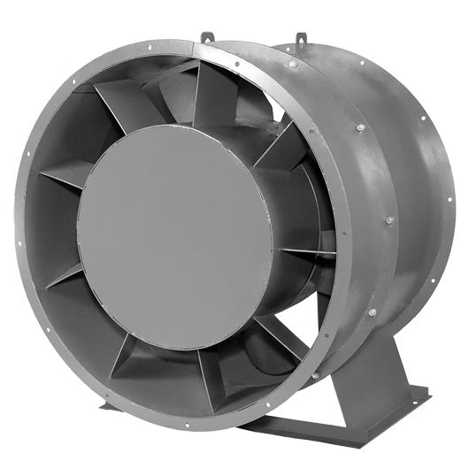 Вентилятор осевой ВО 25-188 №12,5 (15 кВт/970 об/мин)